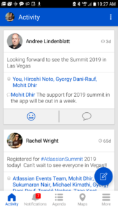 """Atlassian Events"" Mobile App"