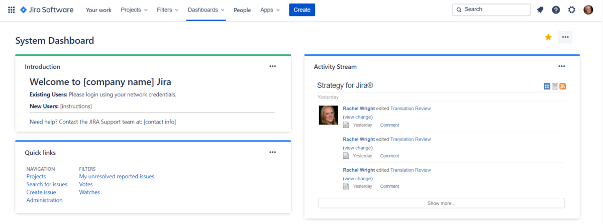 Evolution of Jira Design