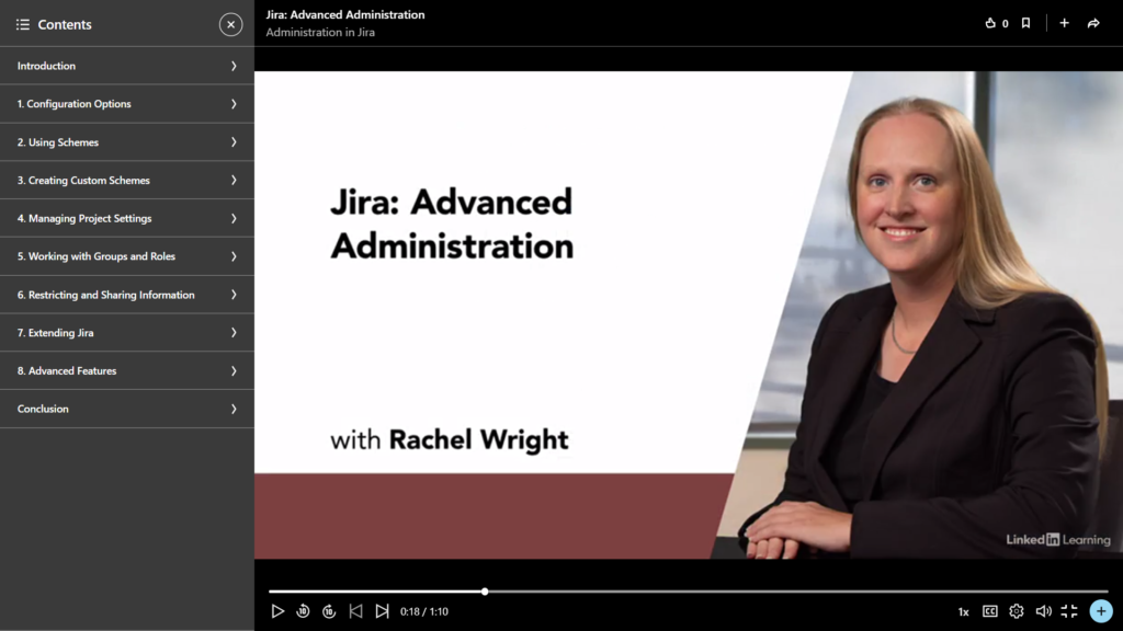 Jira: Advanced Administration with Rachel Wright